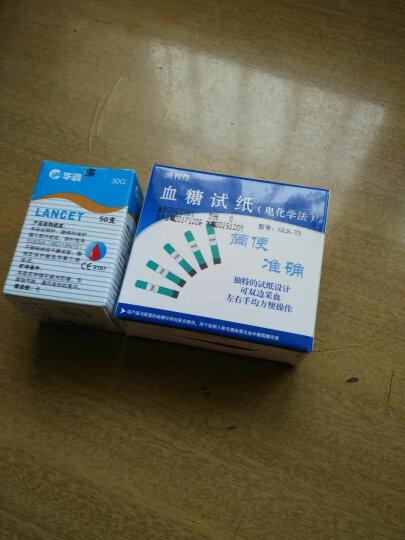 测利得 超值血糖仪GLM-73血糖试纸超值型老人家用全自动智能超值血糖试纸GLS-73 200试纸+200针+200酒精棉片+仪器 晒单图