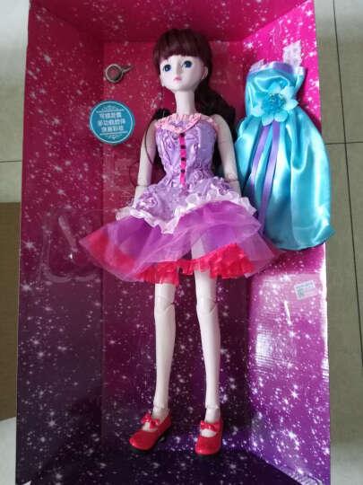 叶罗丽娃娃女孩儿童玩具夜萝莉仙子DIY仿真洋娃娃精灵梦卡通套装礼盒改装换装玩具 茉莉仙子60CM 晒单图