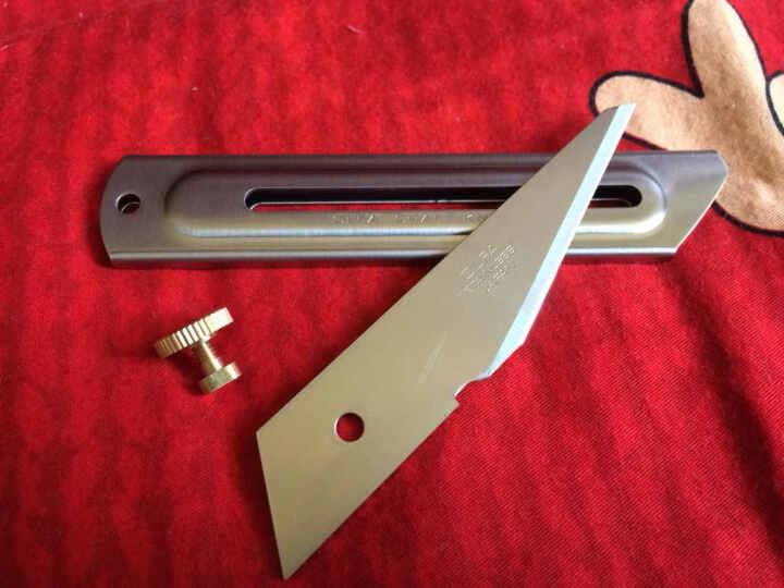 日本原装进口OLFA爱利华CK-2不锈钢刀 雕刻刀|手工模型专用刀 晒单图