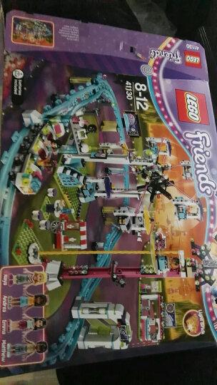 LEGO乐高积木好朋友女孩系列心湖城别墅公主城堡小颗粒益智力拼装玩具 41130游乐场大型过山车 晒单图