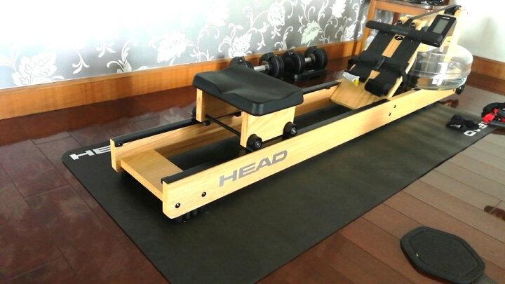 海德(HEAD) HEAD海德跑步机垫健身器材垫防潮防震隔音减震健身器材运动垫子防滑耐用 加长版200x90 晒单图