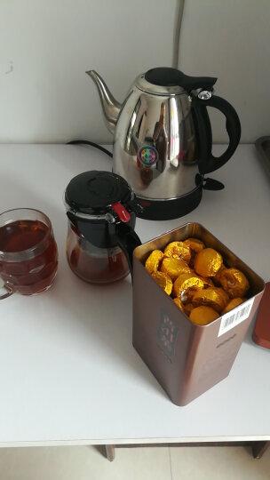 送飘逸杯 糯米香普洱茶一斤装茶叶 云南陈年普洱茶小沱茶熟茶500g 原味茉莉玫瑰荷叶 香甜玫瑰味 500g(一盒) 晒单图
