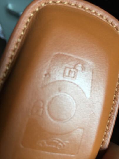 标车族宝马3系钥匙包套真皮320liaGT1系M3专用于2019新款 芭比红(送指环扣) 晒单图