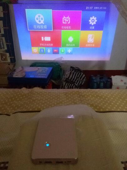 Tumetimes 图美Q8微型手机投影仪家用迷你wifi投影机办公全高清智能3D便携 【32G 金色】 安卓智能 手机同屏 HDMI输入 晒单图