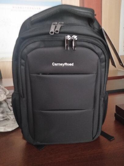 Carneyroad卡尼路双肩背包男士14寸15寸旅行笔记本包黑色CR-179 晒单图