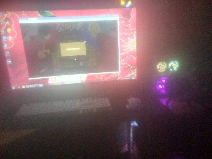 狼途(LANGTU) 机械手感键盘鼠标套装电竞游戏家用外设笔记本电脑有线键鼠套装耳机三件套防水静音 银黑七彩键盘+游戏鼠标 晒单图