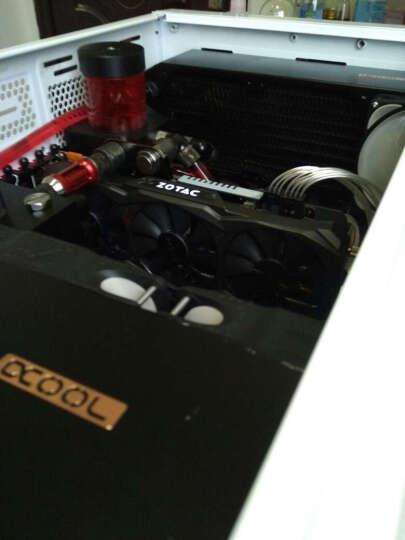 追风者(PHANTEKS) 813P白色白灯 专业级水冷电竞电脑机箱(支持双电源/2x480冷排/双路服务器主板/配5风扇) 晒单图