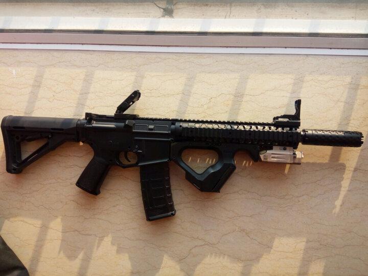 锦明8代下供弹M4玩具枪金属消音火帽器可调节NERF玩具专用装饰金属配件仿真模型 蜂巢消音【需配合带牙帽 晒单图