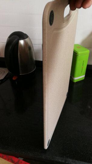 双庆(ShuangQing) 双庆 小麦菜板切菜耐用砧板水果案板塑料家用辅食面板 大号 晒单图