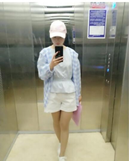 法萝迪 2019春夏新品女装牛仔外套女短款韩版修身上衣bf原宿夹克B899 黑色 L(建议105-115斤) 晒单图