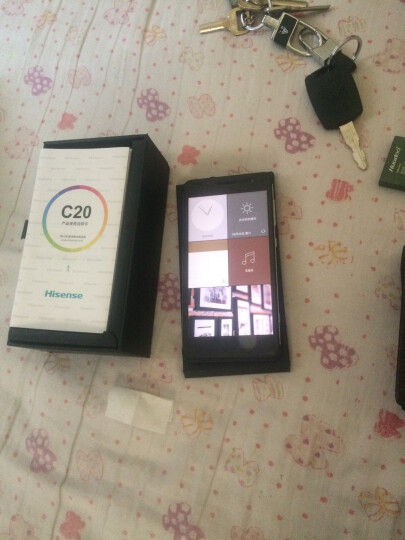 海信(Hisense) 海信(Hisense) C20(金刚Ⅱ) 全网通4G手机 双卡双待 白色 2GB+16GB标准版 晒单图