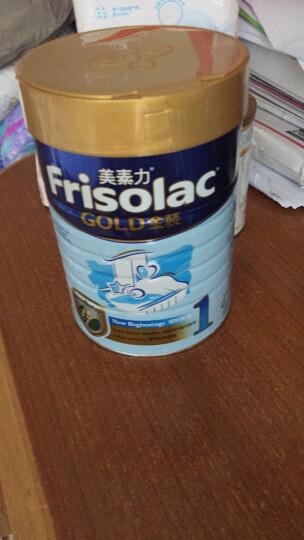 美素力(frisolac)港版 婴幼儿配方奶粉1段(0-6月)900克/罐 晒单图