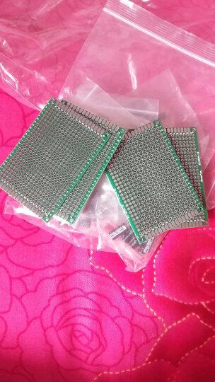 TaoTimeClub 双面喷锡板 5*7CM 实验板 PCB板 玻纤材质 厚1.6MM 晒单图