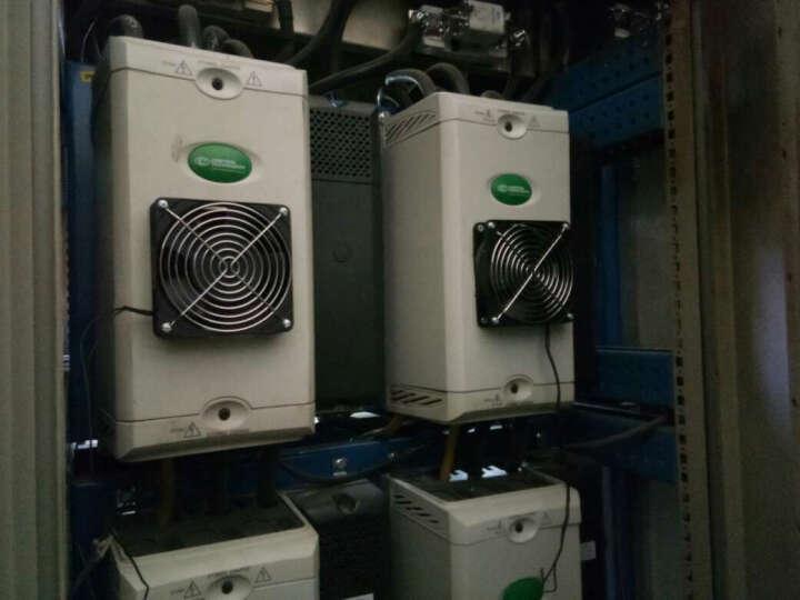 德力西电气 散热风扇220v 铝制轴流风机 机柜交流风扇 120120*25 DHBFG12025HA 晒单图