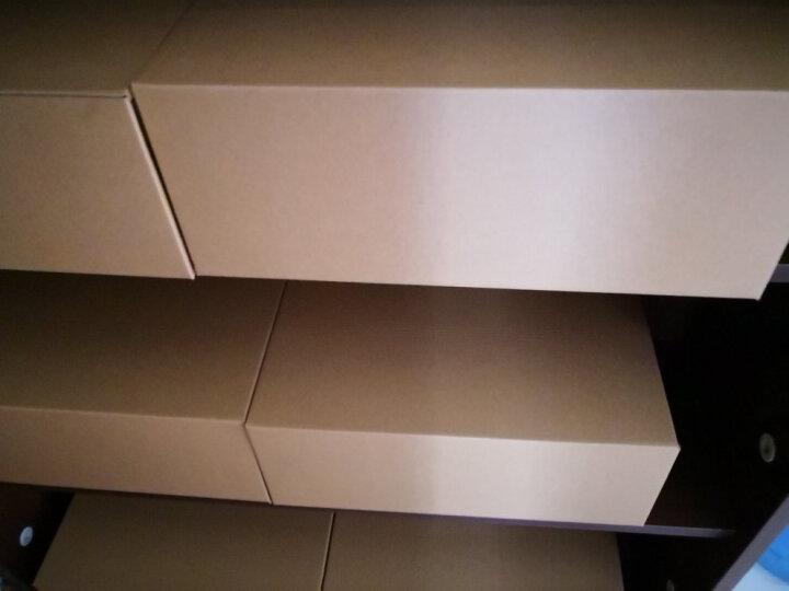 鞋盒透明抽屉式纸盒整理盒环保加厚桌面收纳盒鞋子包装盒靴盒男女鞋盒收纳箱收纳盒储物盒 男鞋A款6个 晒单图