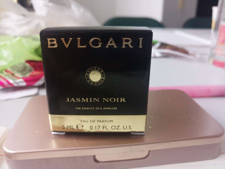 宝格丽(bvlgari)【特价】Bvlgari宝格丽男女士小样香水礼盒 白水晶紫水晶绿水晶5ml*3三件组合装 晒单图
