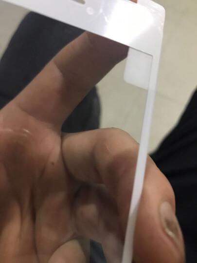 飞创 苹果7/8钢化膜iPhone7Plus全屏全覆盖3D抗蓝光防爆手机玻璃保护贴膜 苹果7/8 亮黑色【软边蓝光版】4.7 晒单图