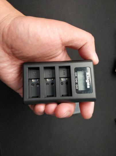 劲码  GoPro hero 7 6 5 Black 电池 充电器 三充GoPro运动相机配件 3个电池+1个充电器 晒单图