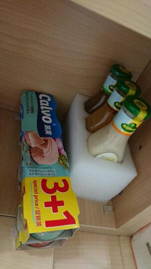 4罐装西班牙进口Calvo凯芙盐水浸金枪鱼低脂即食沙拉寿司海鲜吞拿鱼肉罐头320g早餐 晒单图