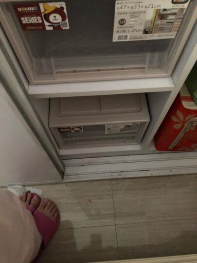 【3件7折】稻草熊抽屉式收纳柜透明塑料收纳箱衣柜储物箱衣物收纳盒儿童收纳整理箱衣柜收纳盒宝宝收纳 D3918(53*39*18cm)单个 晒单图