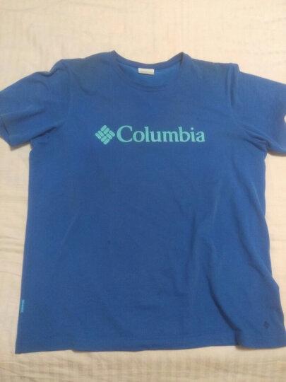 Columbia 哥伦比亚户外17春夏男款LOGO印花吸湿短袖T恤 PM3707 438 XL 晒单图