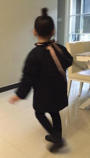 天伦之旅童装秋冬装新款女童外套棉衣中大童棉服 图片色 150 晒单图
