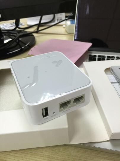 普联(TP-LINK) 迷你多功能无线路由器旅行便携式 TL-WR703N 单LAN/3G上网 晒单图