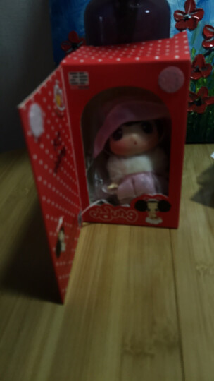 ddung 冬己迷糊娃娃 创意公仔挂件卡通装饰品 动漫玩偶女孩换装萌娃变妆换衣服娃娃摆件儿童生日礼物 小淑女_FDE0901S 晒单图
