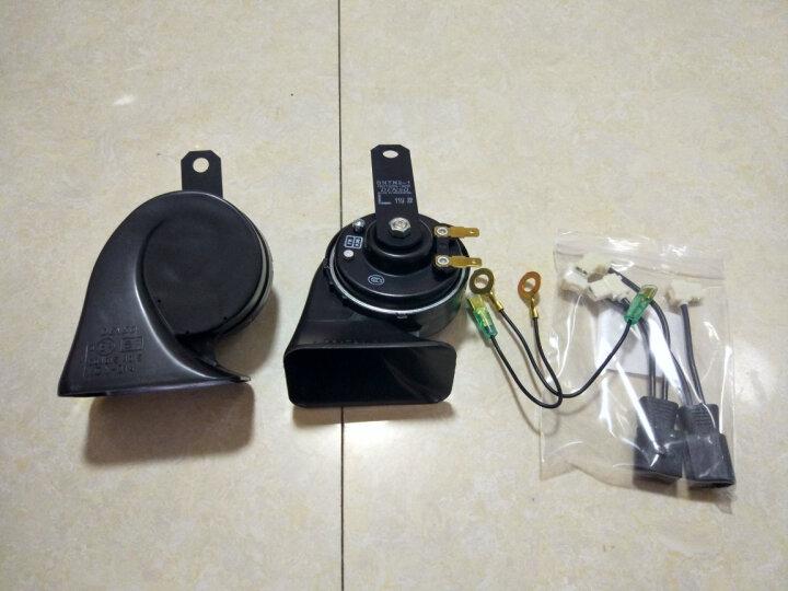 电装(DENSO) 汽车喇叭 蜗牛双插喇叭+非电装配线 只用于双喇叭 (奥迪/斯柯达/保时捷/长城) 晒单图