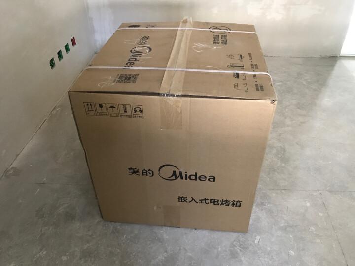 美的(Midea)绅士系列 嵌入式电烤箱  智能触控 嵌入式家用电烤箱 烤箱 ET1065SS-80SE 晒单图