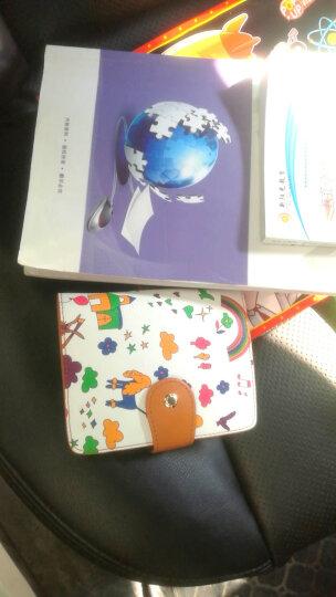 不莱玫 原创印花卡包可爱多卡位卡片包 复古棕 大版 晒单图