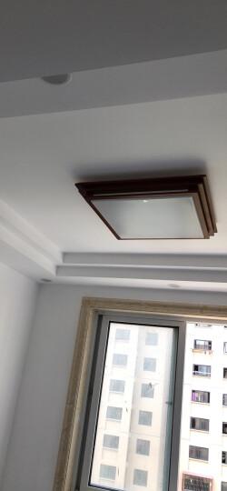 飞利浦(PHILIPS)浴霸 集成吊顶铝扣板模块PTC风暖照明吹风换气三合一多功能洁熙恒焕 遥控风暖+换气+照明-30*60cm 晒单图
