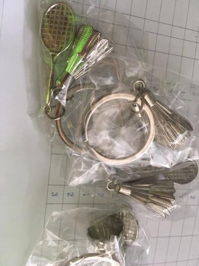 索德士SOTX索牌 羽毛球造型钥匙扣金属 索牌立体羽毛球拍钥匙扣单个 晒单图