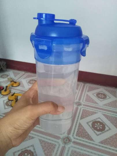 乐扣乐扣(LOCK&LOCK) 运动水杯摇摇杯塑料大容量带茶隔水壶 蓝色690ML 晒单图