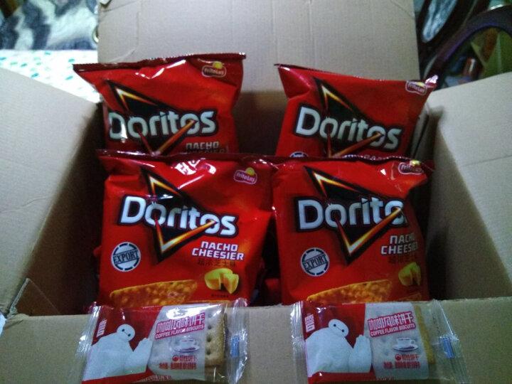 多力多滋Doritos超浓芝士味玉米片 中国台湾零食薯片 超浓芝士味65g 晒单图