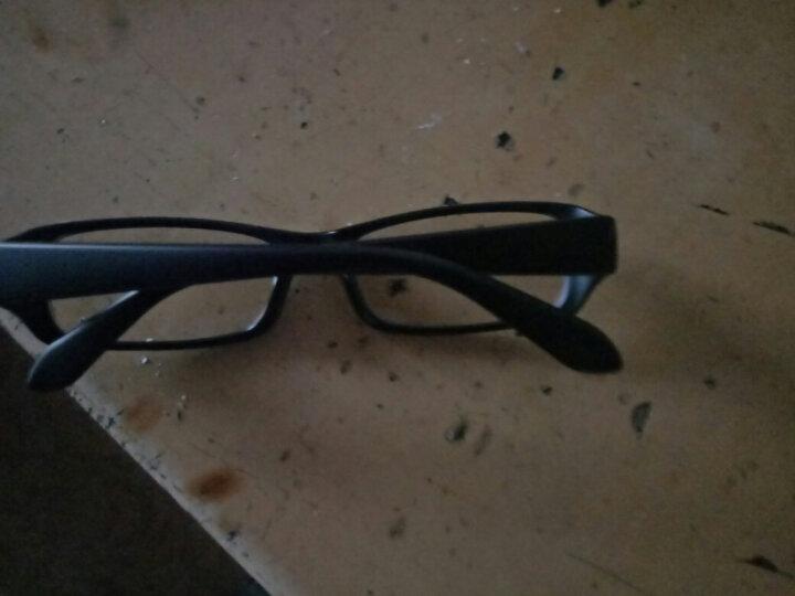 百飒(BYZA)防辐射眼镜 防近视平光镜 全框男女款 通用潮流眼镜架防蓝光电脑游戏护目镜 大号-豆花色-防辐射平光镜 晒单图