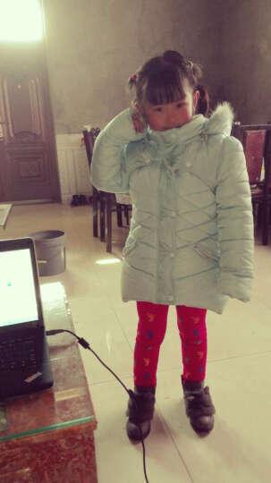 萌童时尚(MENGTONGSHISHANG) 童装女童棉衣外套新款中长款羽绒棉服中大童 外星人棉袄红色 130建议身高120cm以下 晒单图