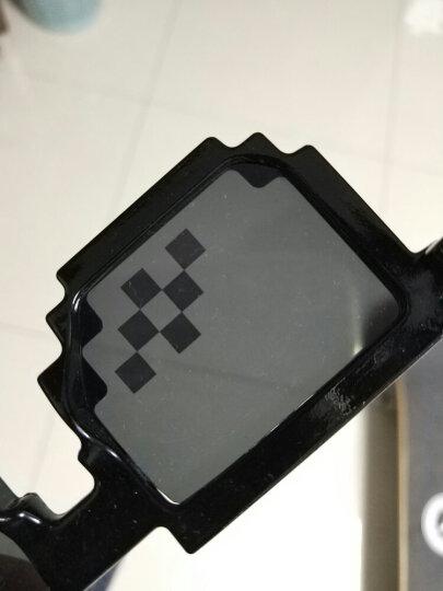 马赛克眼镜搞怪装b神器打码像素墨镜二次元装逼眼镜 道具雪茄 中 晒单图