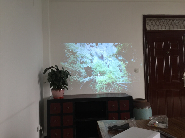 Rigal 瑞格尔led投影仪家用办公全高清1080p无线wifi投影机4K激光电视3d迷你便携影院 智尊版 带WiFi 蓝牙 晒单图