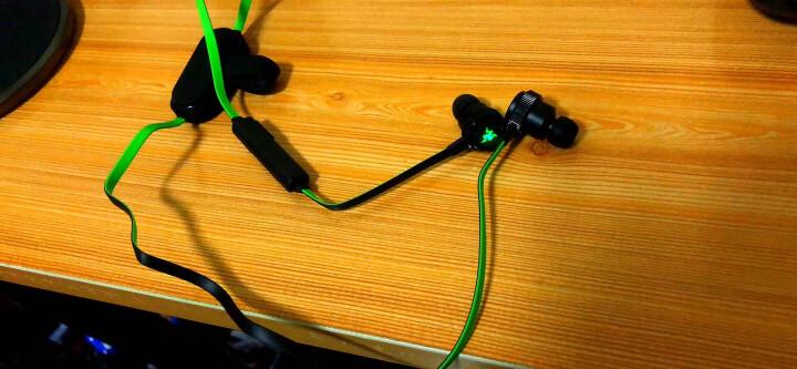 雷蛇(Razer)战锤狂鲨BT 无线蓝牙耳机 带灯光 游戏音乐运动耳机 入耳式耳机 电竞耳机 晒单图