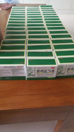 育林 藿香正气水 10ml*10支/盒 霍香正气口服液 合剂 外感风寒肠胃型感冒中暑呕吐腹泻 药品 30盒 晒单图