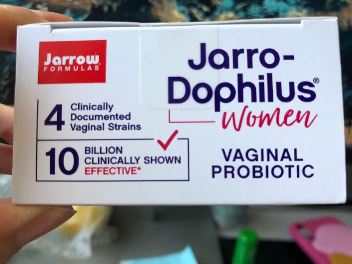 Jarrow 女性益生菌妇科炎症成人私处霉菌瘙痒异味 60粒2瓶(每粒含50亿活菌) 晒单图