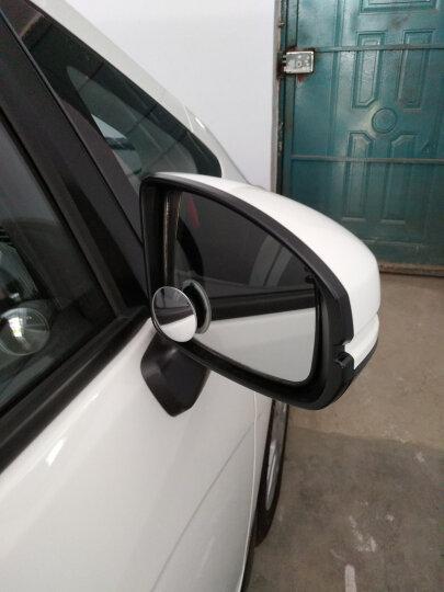 KOOLIFE 汽车后视镜小圆镜倒车镜小圆镜广角镜反光镜不可调节去盲点盲区辅助镜 不可旋转 高清对装 晒单图
