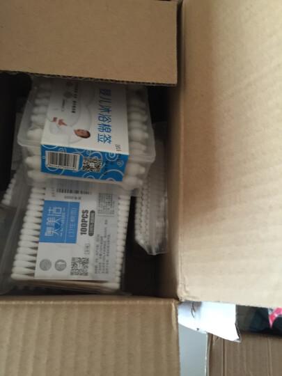奥美洁 棉签婴儿耳鼻清洁沐浴棉签棒纸杆盒装(55支) 晒单图