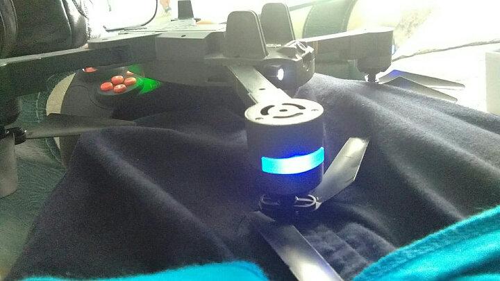【雅得旗舰店】新品XT-1智能气压定高折叠四轴飞行器充电遥 829C航拍版蓝色标配 晒单图