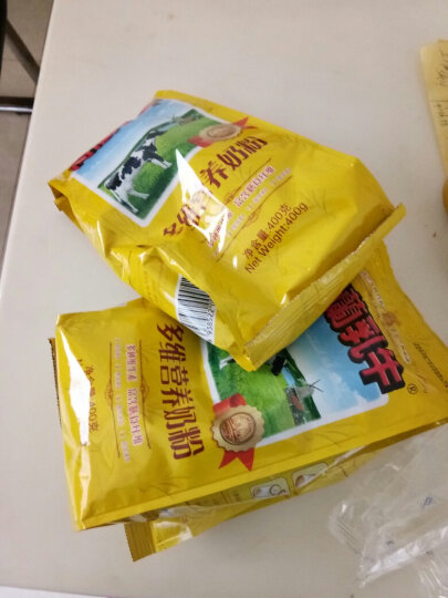 旧版 荷兰乳牛 学生配方奶粉400g袋装 青少年学生奶粉(保质期至:20年5月) 晒单图