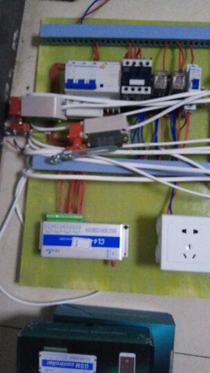 【京东好店】.  gprs远程控制开关GSM手机app远程控制器4路水泵路灯点动遥控 四路温湿控+3米天线+02型 晒单图