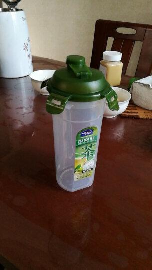 乐扣乐扣(LOCK&LOCK) 运动水杯摇摇杯塑料大容量带茶隔水壶 绿色690ML 晒单图