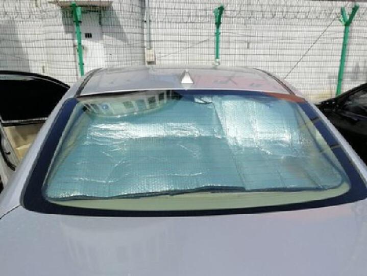 SNBLO各车系车型汽车遮阳挡加厚防晒板隔热板太阳挡车用车内车窗前档遮阳板拍下备注车型 银色色铝膜前档SUV专用 晒单图