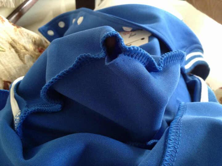 情蜜妮实拍2019冬季新款韩版面包服女学生棉衣女短款时尚修身加厚棉服外套潮 白色 L 晒单图